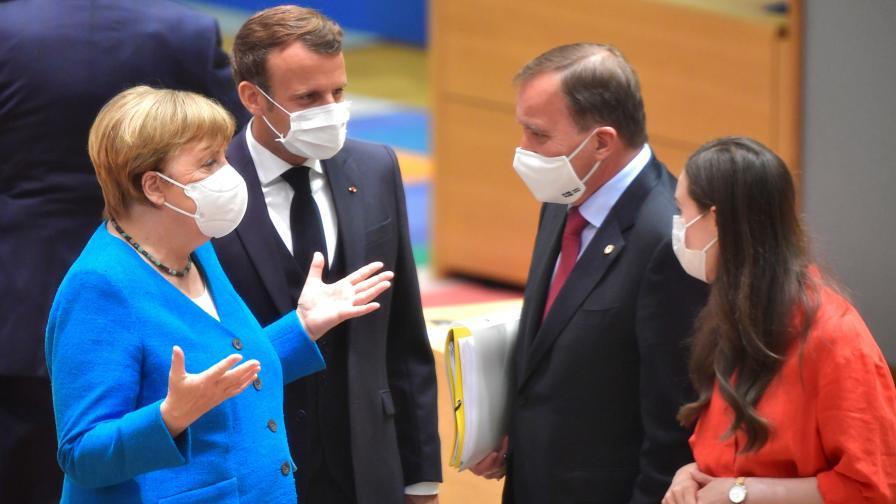 <p>Лидерите на ЕС не се договориха,&nbsp;срещата в Брюксел продължава</p>