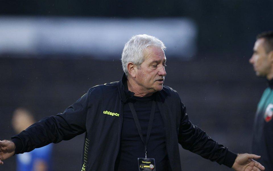 Треньорът на Ботев Пловдив Ферарио Спасов сподели, че оценява сезонът