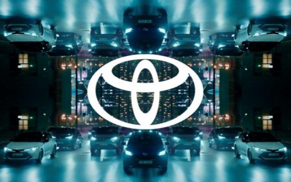 Тойота с нова бранд идентичност