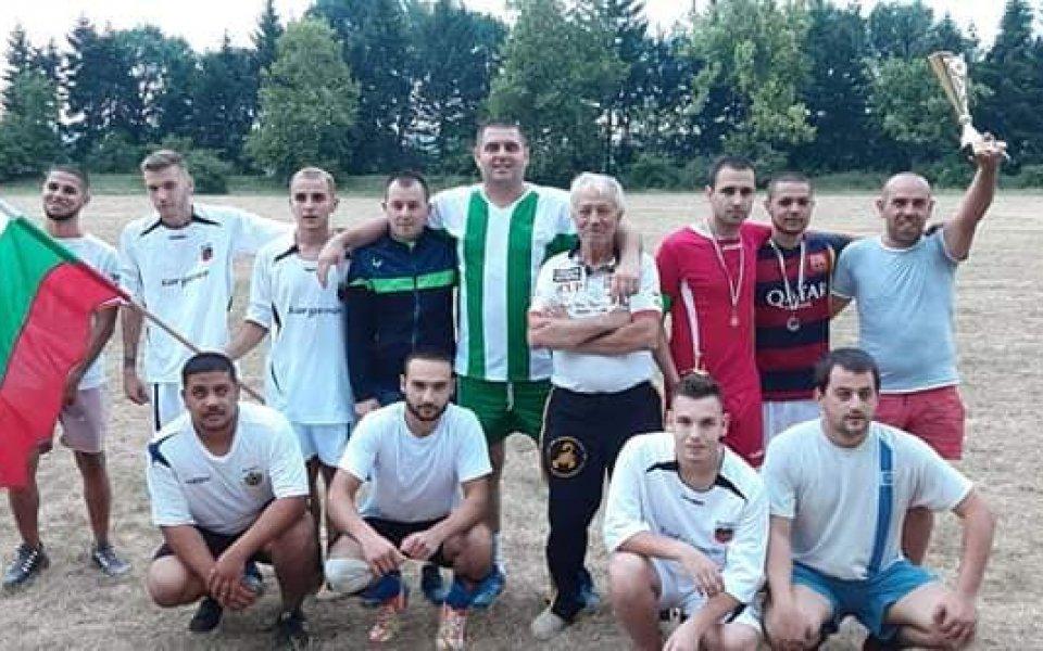 """""""Цирка на стадиона"""" спечели Суперкупата на стадиона в с. Камен"""