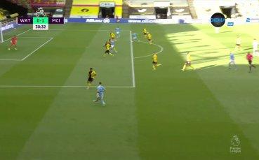 Топовен шут на Стърлинг изведе Сити срещу Уотфорд