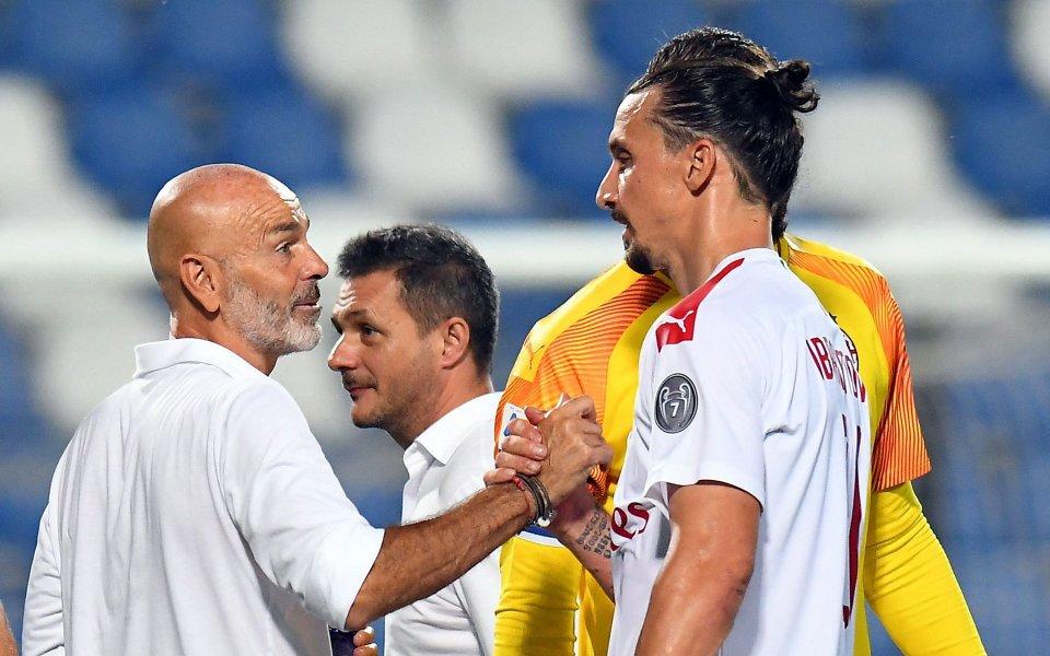 Официално Стефано Пиоли остава начело на Милан, след като поднови