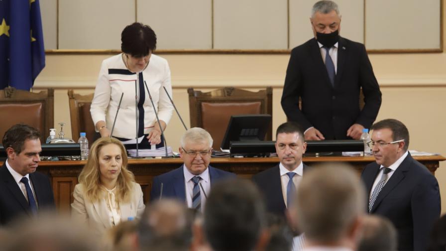 """Новите министри в кабинета """"Борисов 3"""" полагат клетва"""