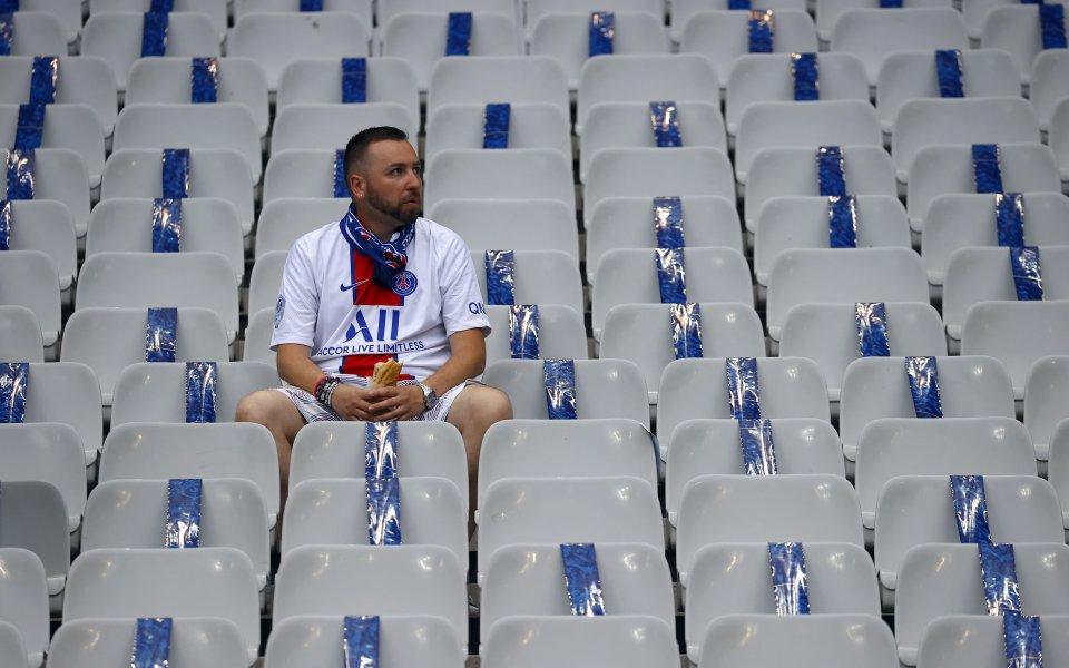 Франция няма да допуска по повече от 5 000 човека по стадионите и през август