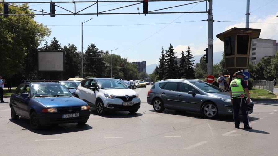 С до 30 км/ч в центъра на София