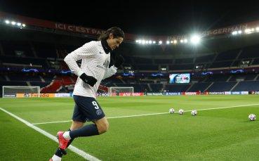 Кавани може да дебютира за Юнайтед срещу Челси