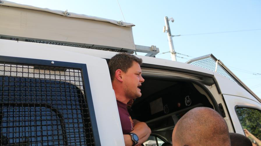 """Напрежение на """"Орлов мост"""": Арестуваха Петър Кърджилов"""