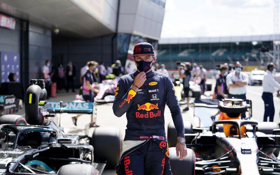 Макс Верстапен ще се нареди на втора редица за старта