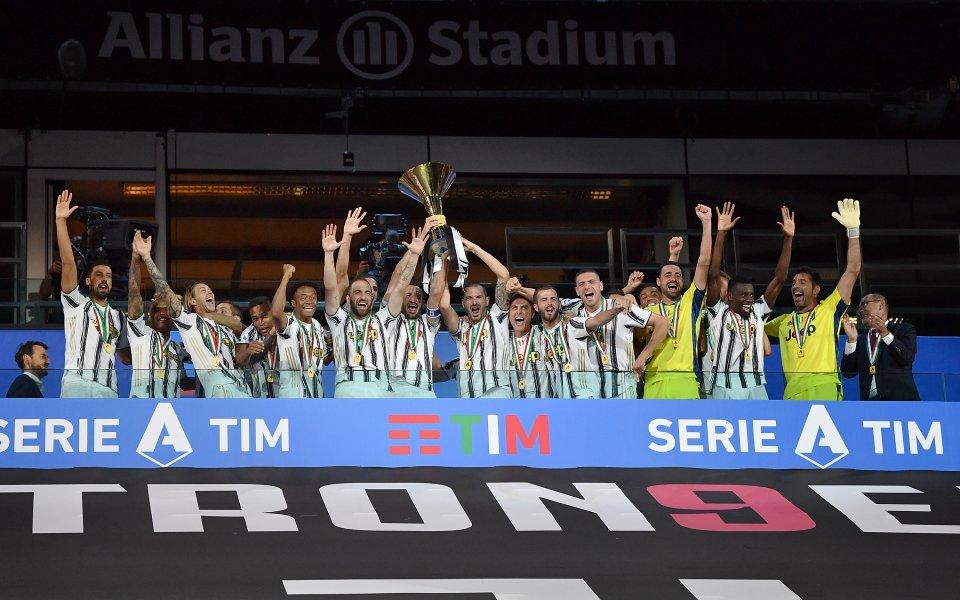 Ювентус вдигна 36-ата си титла в Серия А