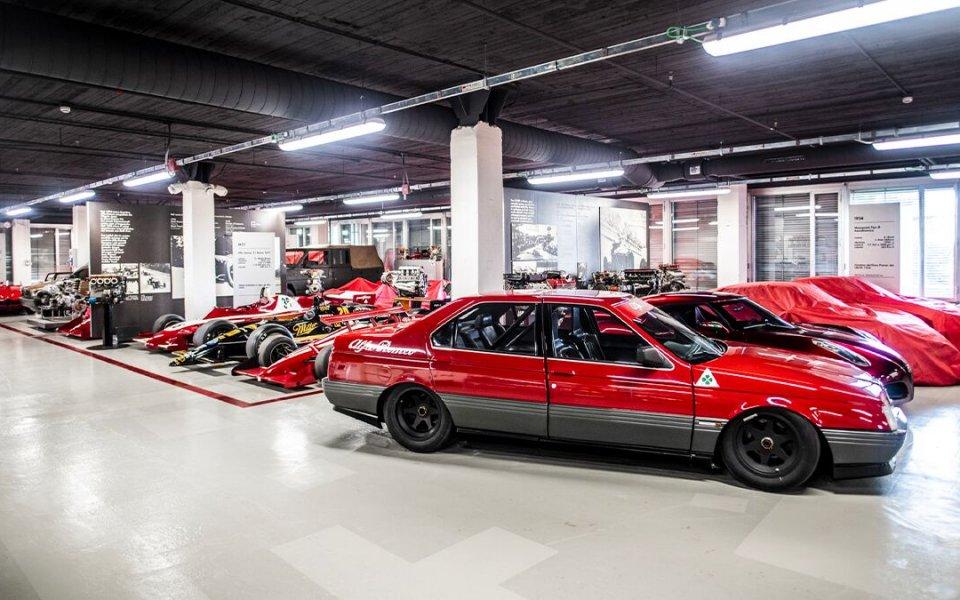 В музея на Alfa Romeo в италианския град Арезе се