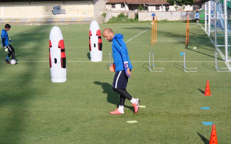Футболистите на Левски проведоха поредната си подготовка преди старта на