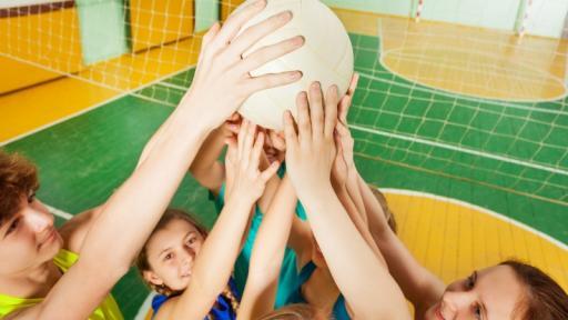 Спортуващо семейство - сплотен отбор