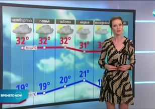 Прогноза за времето (05.08.2020 - централна емисия)