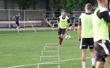 Славия тренира преди началото на новия сезон