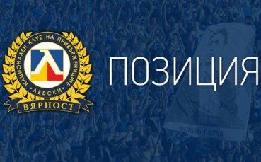 Позиция на НКП на Левски