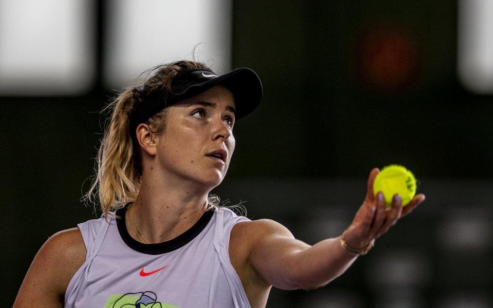 Елина Свитолина отказа участие на Откритото първенство по тенис на