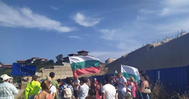 България Природозащитници плажуваха на