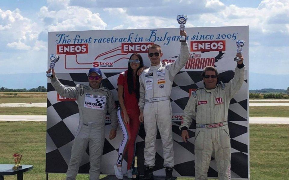 Иван Влъчков спечели Писта Енеос в серия Туринг
