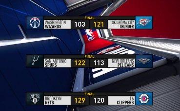 Бруклин се справи с Клипърс, всичко най-интересно от нощта в НБА