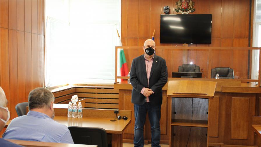 Гешев посети прокуратурата във Велико Търново