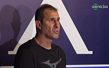 Димитър Димитров: С новите ще бъдем още по-силни