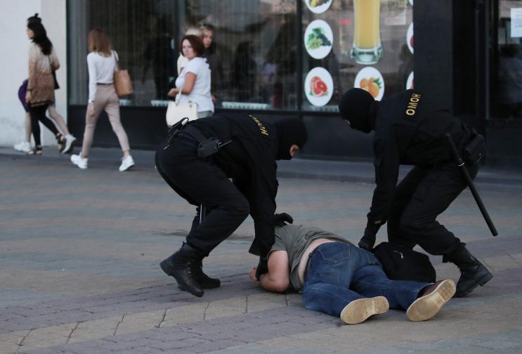 Беларус Минск протест