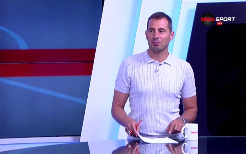 Халфът на Ботев Пловдив Тодор Неделев бе над всички полузащитници