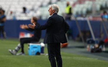 Гасперини: Разочаровани сме, защото бяхме толкова близо