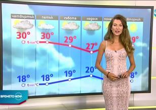 Прогноза за времето (13.08.2020 - сутрешна)