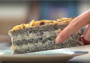 Време за ... торта с мак и рикота