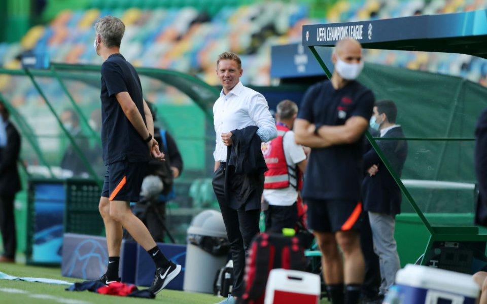 Наставникът на РБ Лайпциг Юлиан Нагелсман коментира успеха на тима