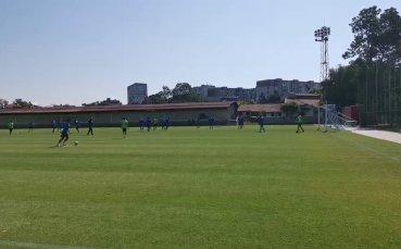 Открита тренировка на Левски преди мача с Арда