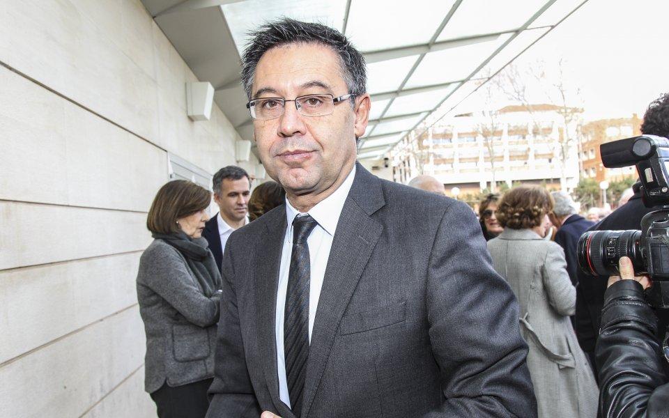 Президентът на Барселона Хосеп Мария Бартомеу скоро ще анонсира датата