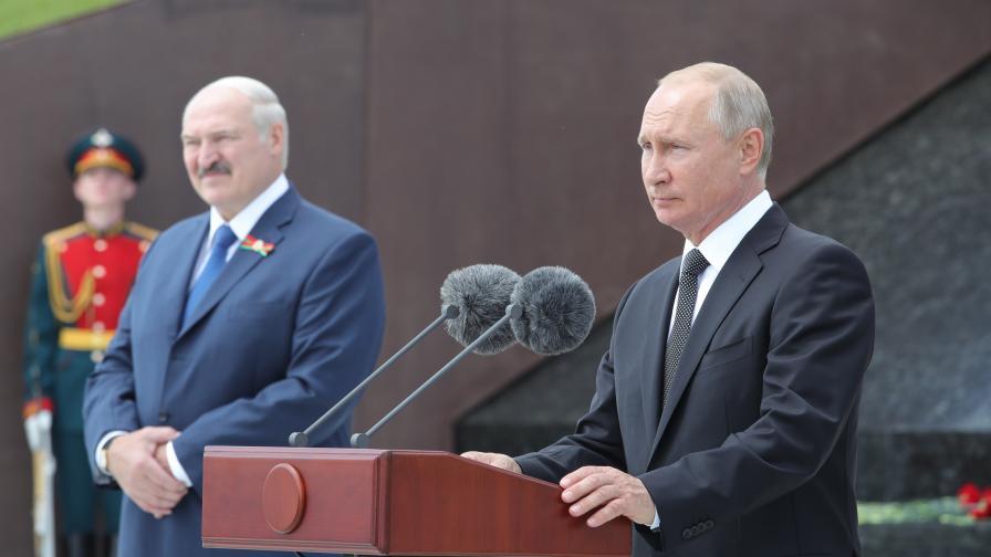 Путин и Лукашенко: Проблемите в Беларус ще бъдат бързо решени