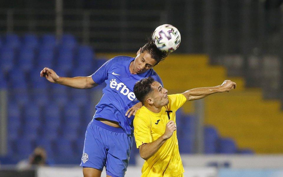 Футболистът на Арда Кърджали Михаил Александров изрази разочарованието си от