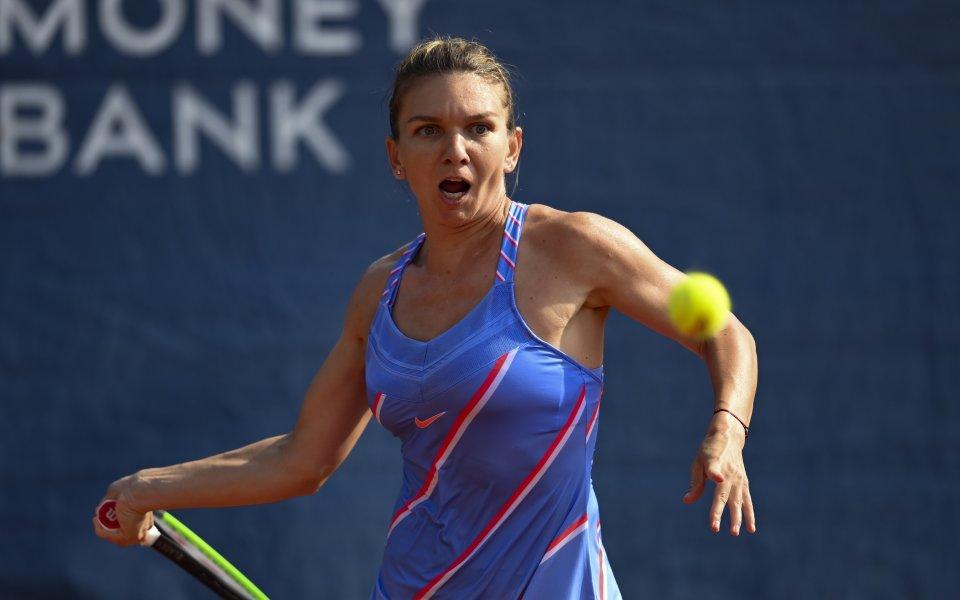 Симона Халеп ще играе на финал в Прага, след като