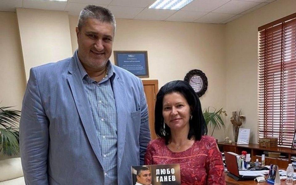 Любо Ганев посети Козлодуй и кораба Радецки
