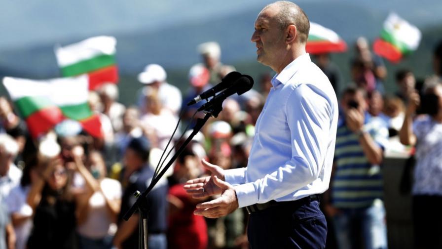 Радев на Шипка: Тук се ражда свободна България