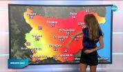 Прогноза за времето (25.08.2020 - следобедна емисия)