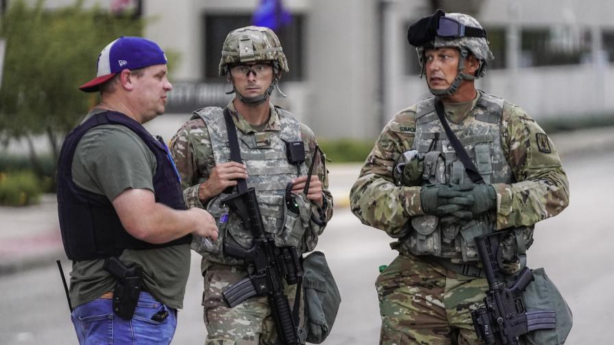 Тръмп прати федералните да потушат бунта в Уисконсин