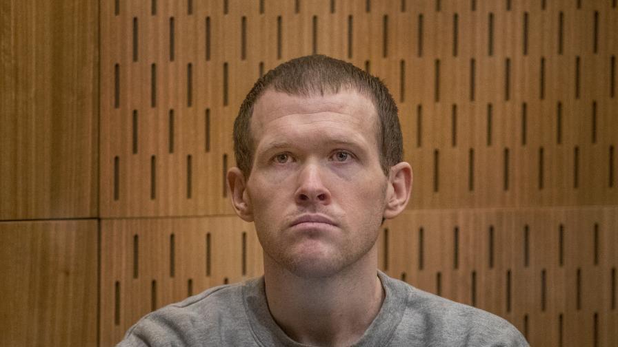 Осъдиха терориста от Крайстчърч на доживотен затвор без право на помилване