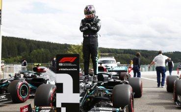 Хамилтън счупи рекорд на Спа, нов провал за Ферари