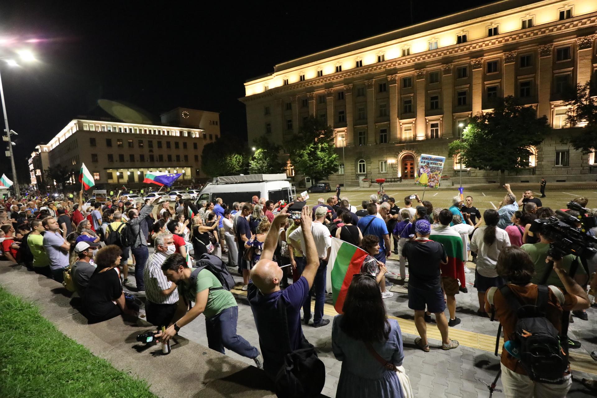 54-ти ден на протести в София