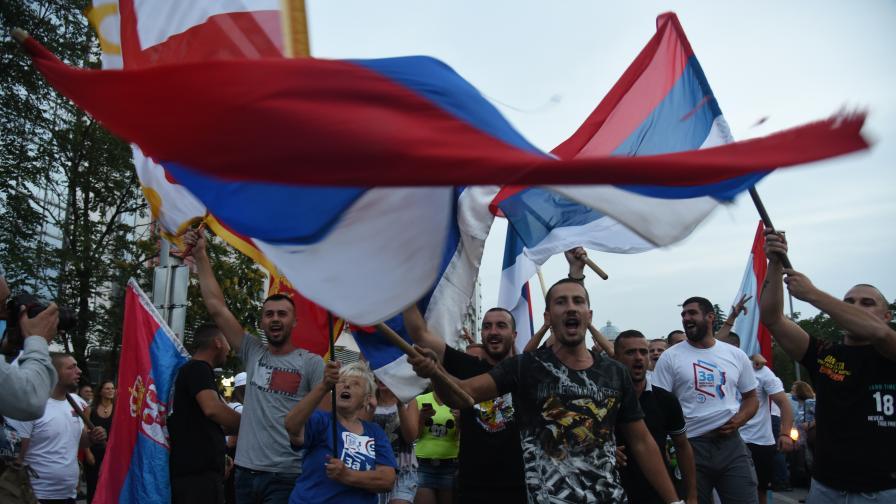 Напрежение и сблъсъци след изборите в Черна гора