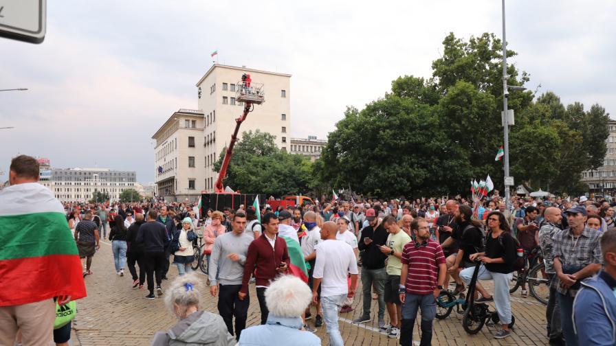 57-и ден на протести: Какво се случва