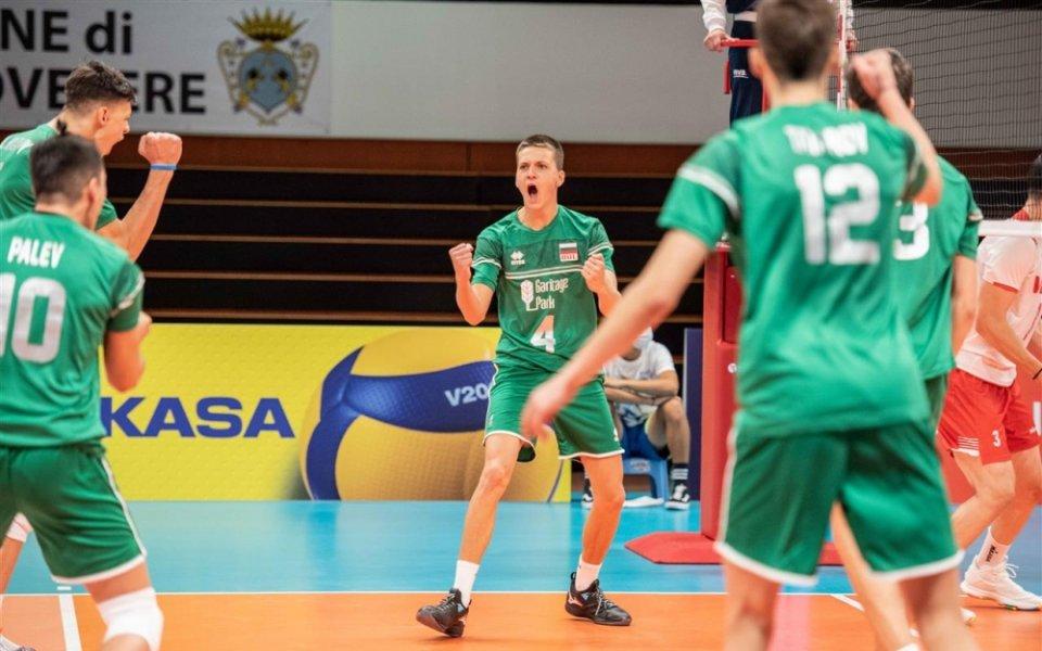 България с поражение от Чехия на 1/2-финалите на Европейското