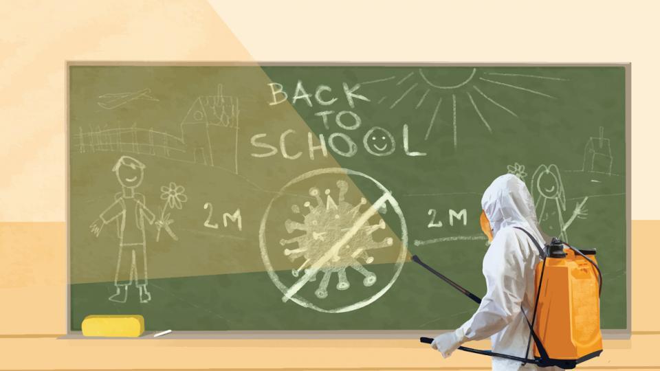 училище пандемия