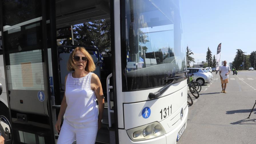Вижте новите автобуси до Витоша (СНИМКИ)