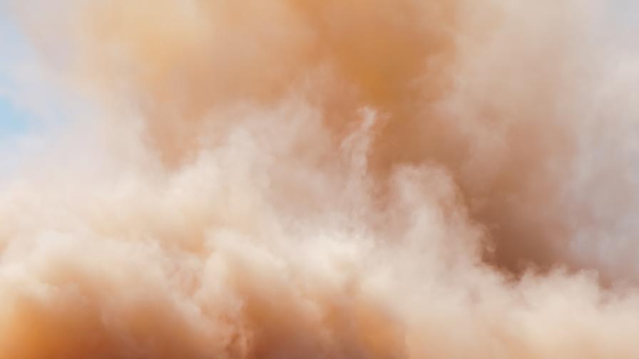 Свирепа пясъчна буря връхлетя Анкара, има ранени