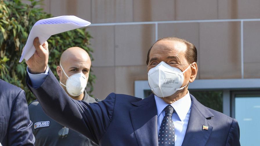 COVID-19: Състоянието на Берлускони се влошило